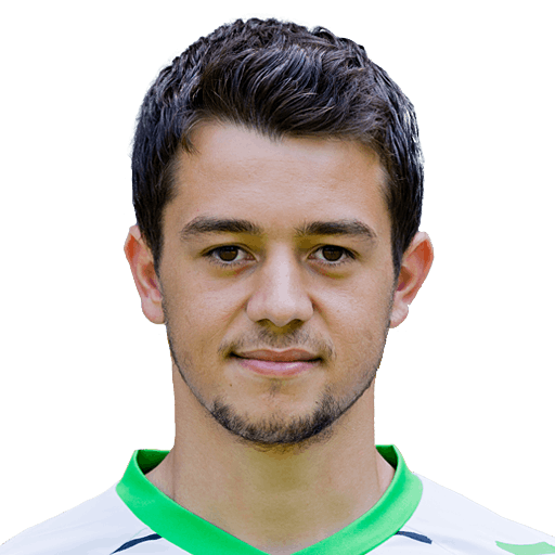 The 24-year old son of father (?) and mother(?), 168 cm tall Amin Younes in 2018 photo