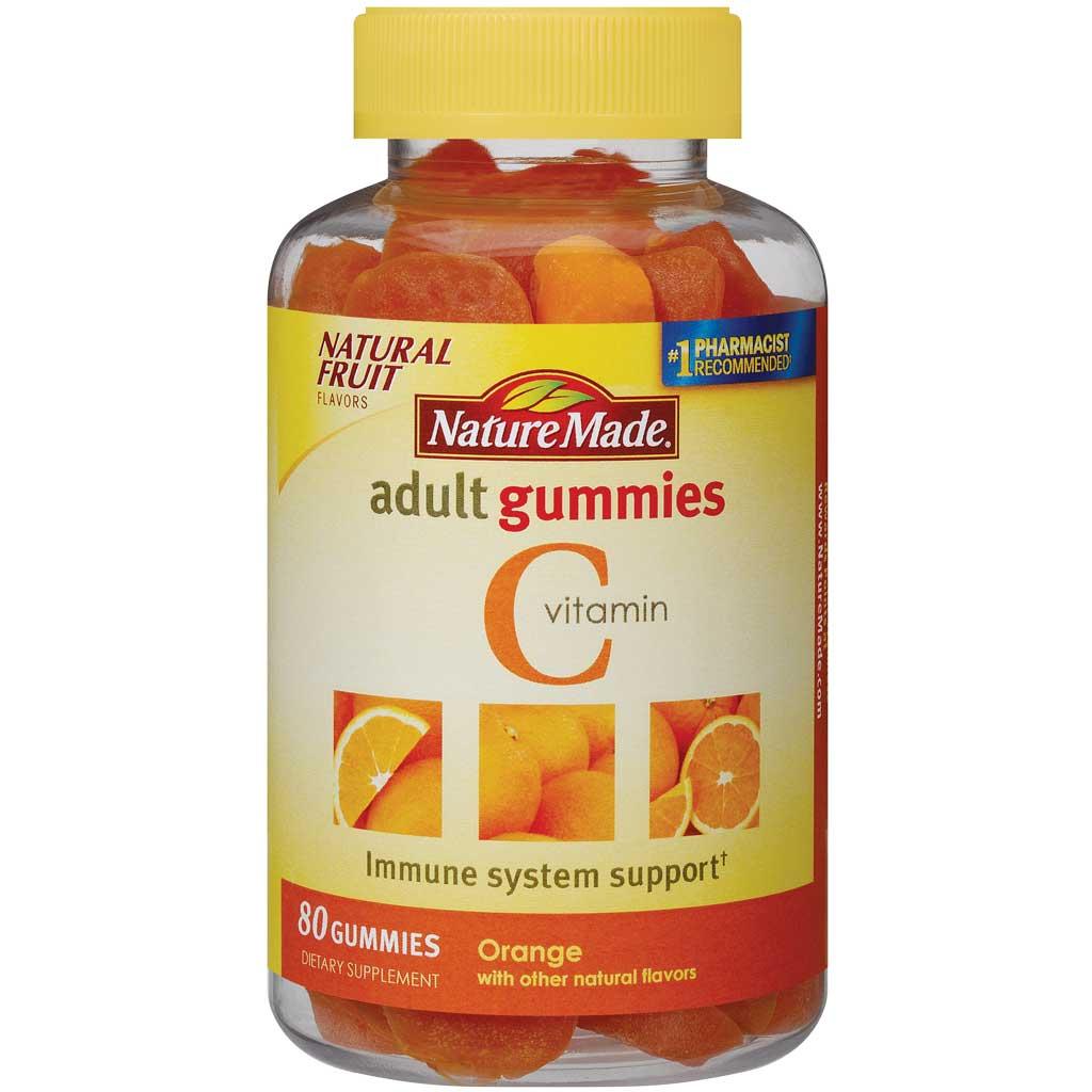 Amazon.com: Nature Made Vitamin C Adult Gummies, 80 Count ...