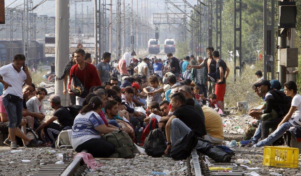 Refugiados en Europa: Fotos del drama que viven miles de inmigrantes ...