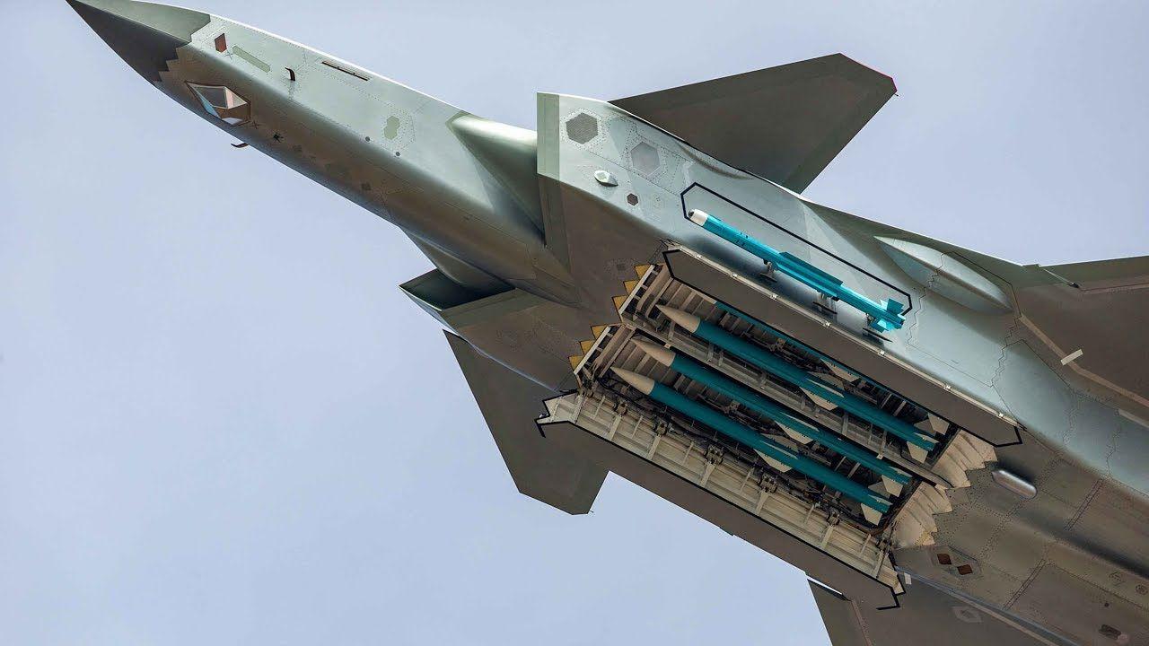 Cazas furtivos J-20 de China enseñan su carga útil de ...