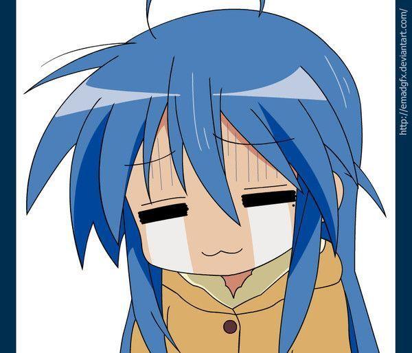 Konata pleure