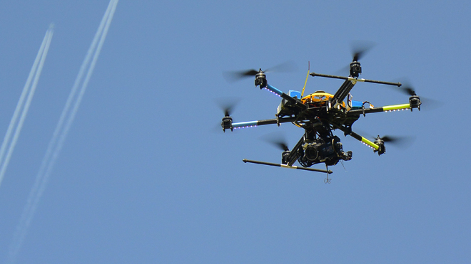 ... town, concerned about surveillance, considers drone hunting licenses