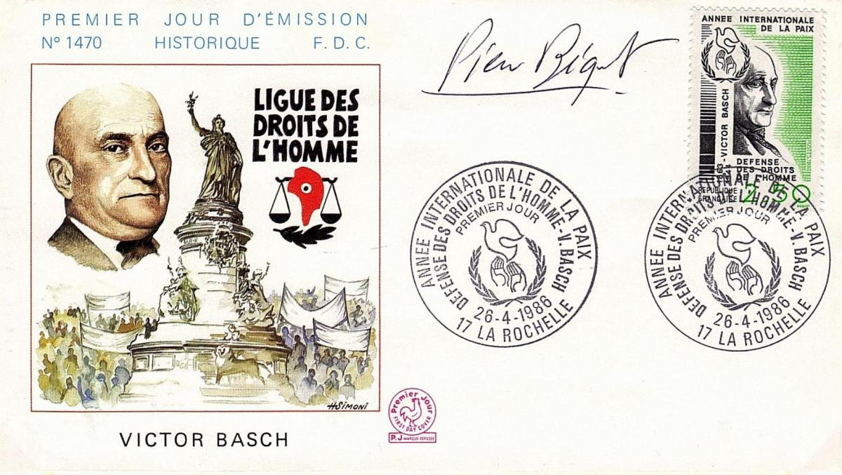69-26/04/1986 : Victor Basch (1863-1944) n° 2415