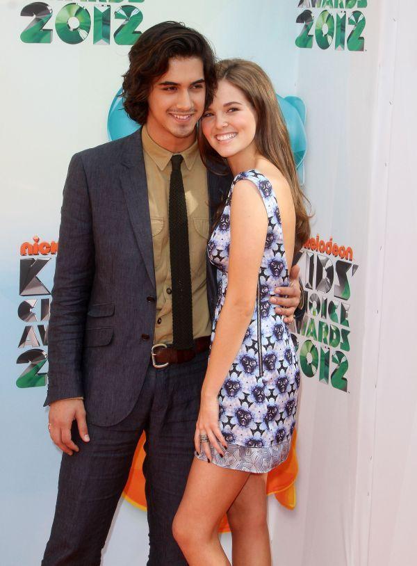 Zoey Deutch with Boyfriend Avan Jogia