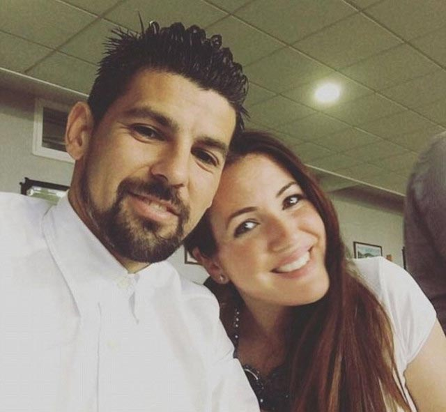 Nolito with Wife Laura Darea