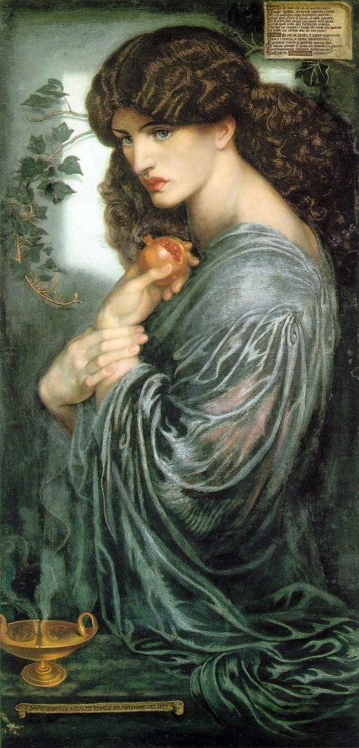 Dante Gabriel Rossetti, Proserpina, 1874, Tate Britain