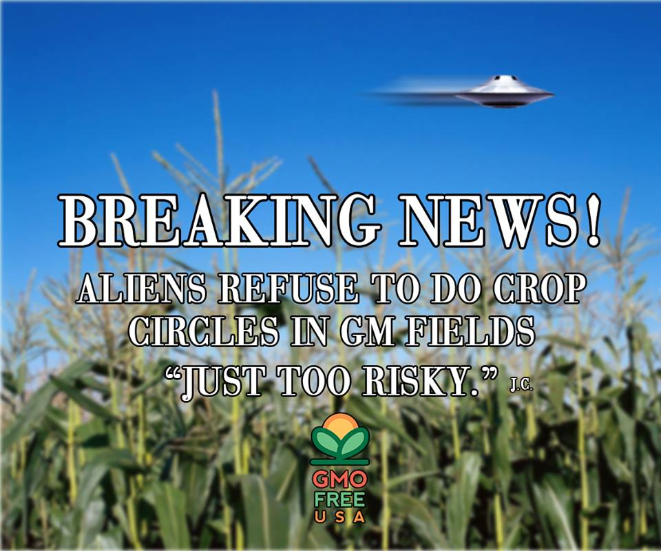 Dr Rex Equality Monsanto GMO free USA Crop Circles Alien don't stop ...