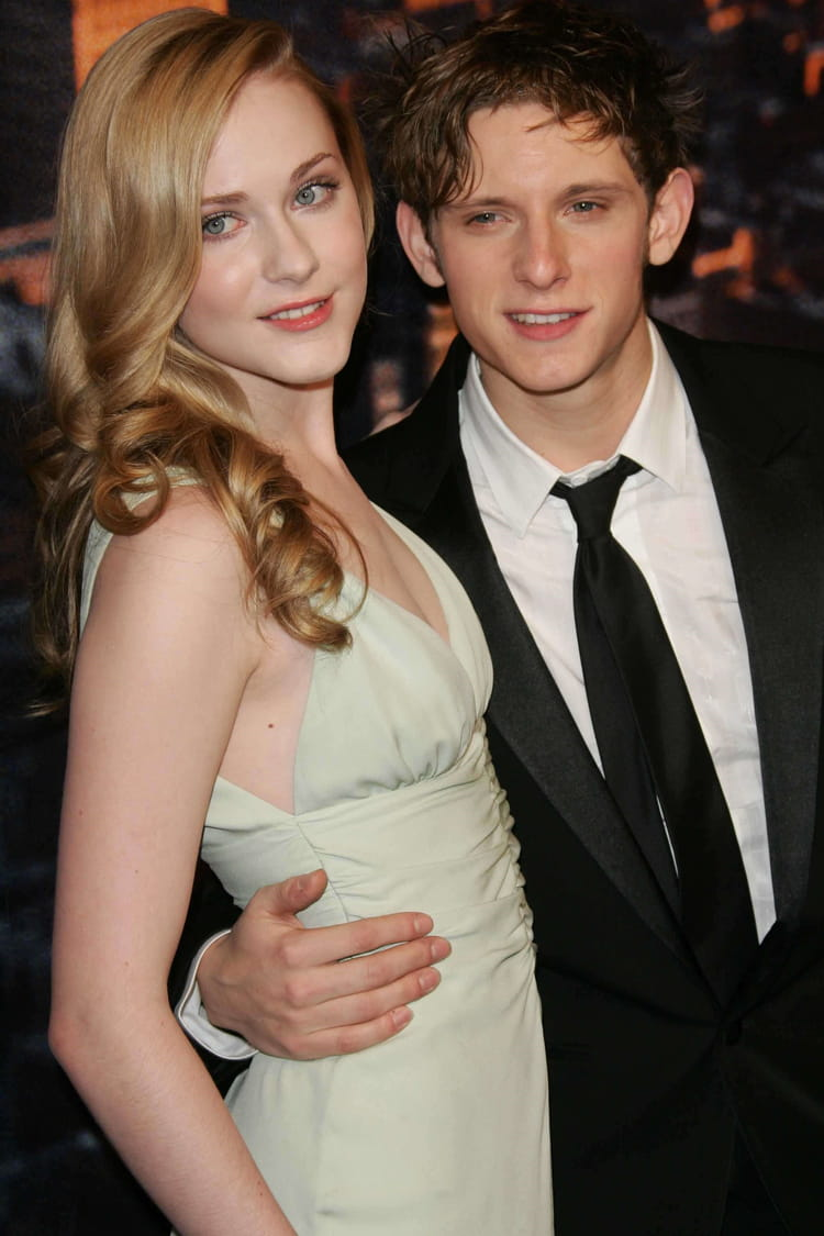 Evan Rachel Wood with Singel