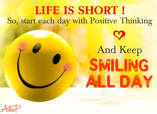 ... Short, So Keep Smiling Always! Free Smile Month eCards | 123 Greetings
