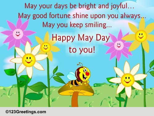 Happy May Day! Free May Day eCards, Greeting Cards | 123 Greetings