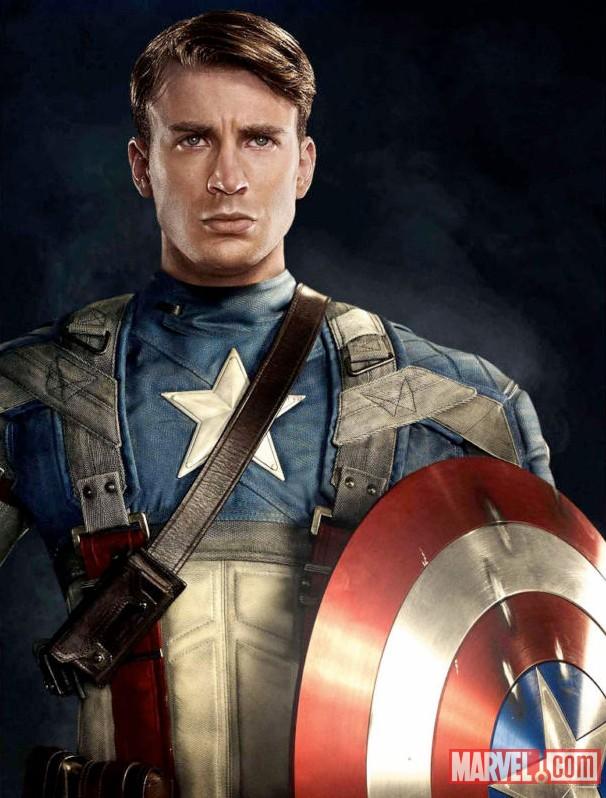 Chris Evans as Captain America | Marvel.com