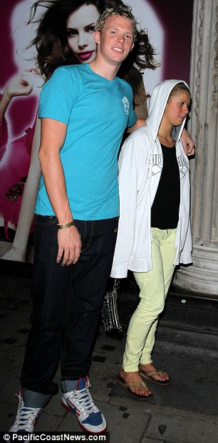 Elizabeth Beisel con Novio