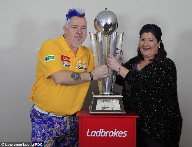 Peter Wright with Kone Jo