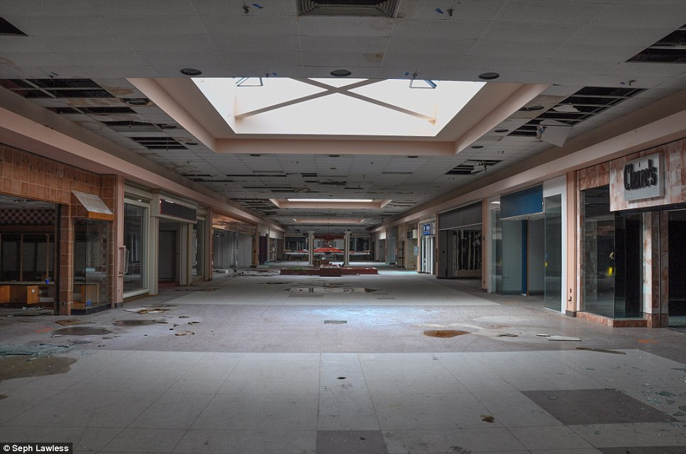 Inside abandoned malls that were once beacon of American ...