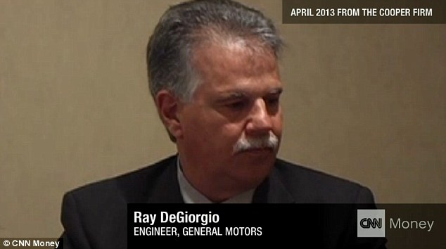 Ray DeGiorgio, Former GM engineer says  I did my job the best I could