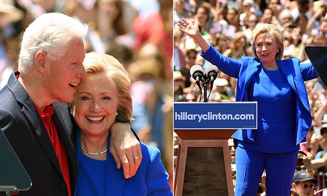 Millionaire Hillary launches campaign do-over with 'slightly more ...