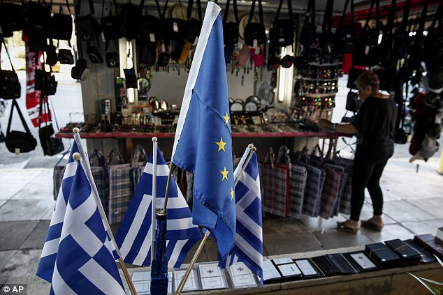 ... low as Greece edges closer to a possible default | Daily Mail Online