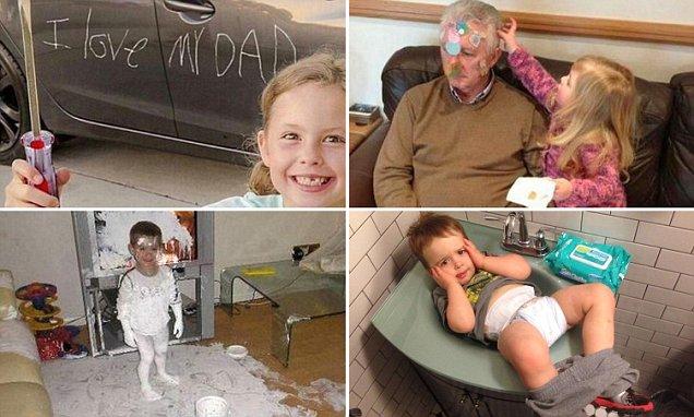 Hilarious Photos Show Exactly What Happens When Children ...