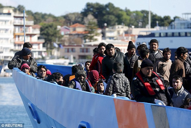 EU chief says Greece is Europe's shield in migrant crisis…