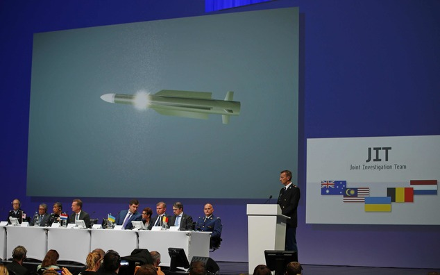 The Latest: Russia calls probe into MH17 downing 'biased ...