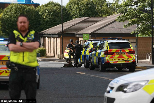 Knifeman who held staff hostage at a Newcastle Job Centre is arrested ...