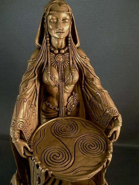 Danu Celtic Mother Goddess Flowing Maxine Miller Abundance ...