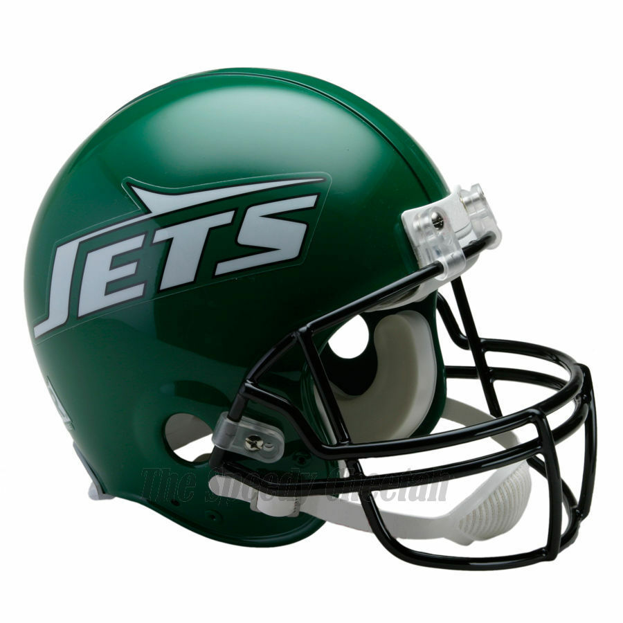 NEW YORK JETS 90-97 RIDDELL NFL THROWBACK AUTHENTIC ...