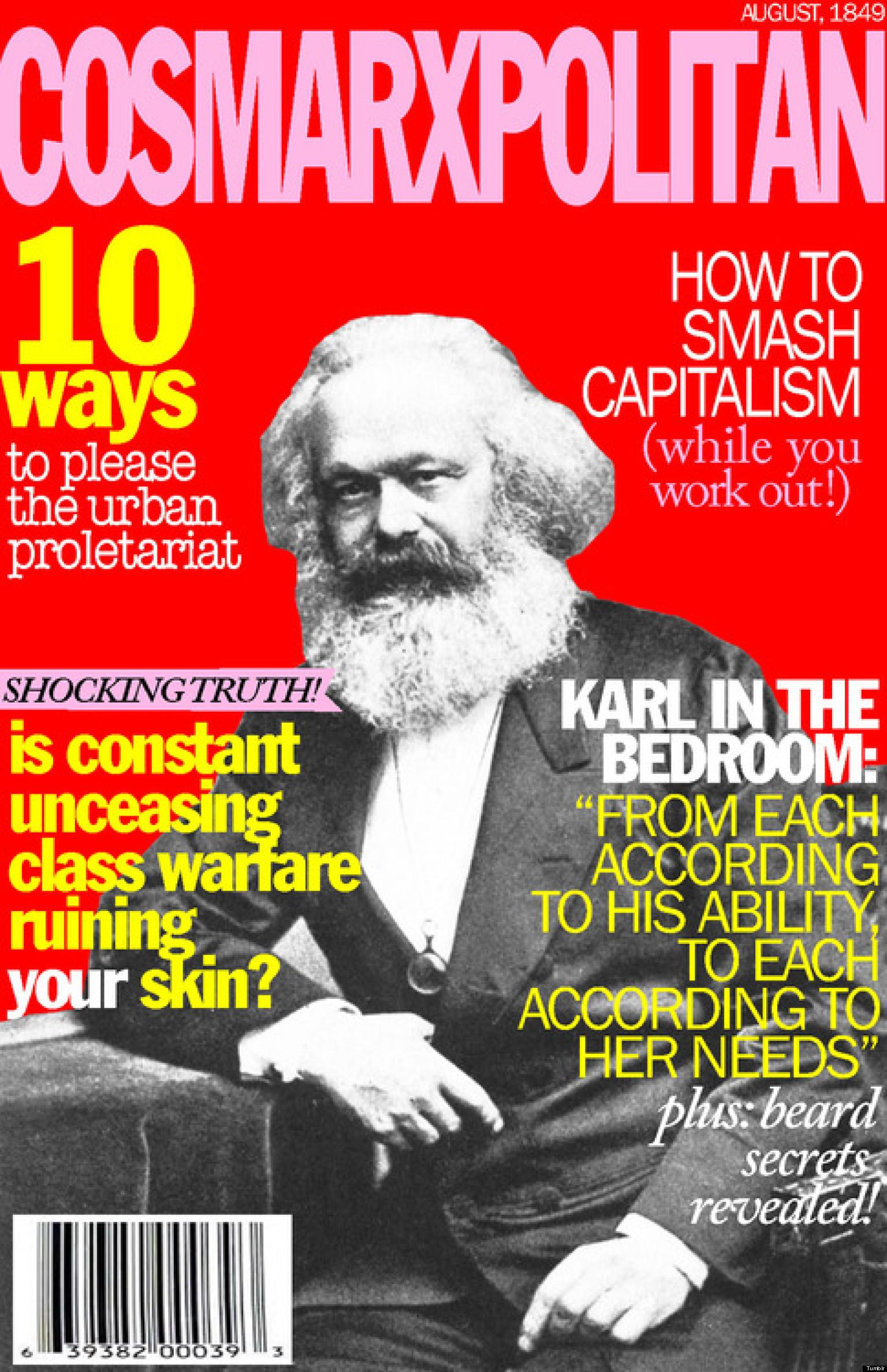 Cosmarxpolitan Tumblr Imagines Marxist Cosmopolitan Magazine Covers