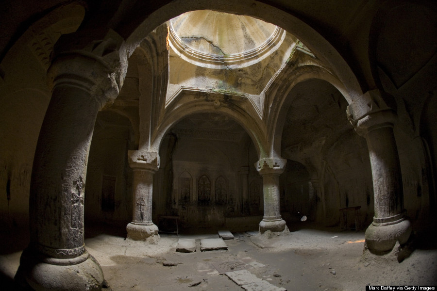 These Mysterious Cave Churches And Monasteries Totally Rock | HuffPost
