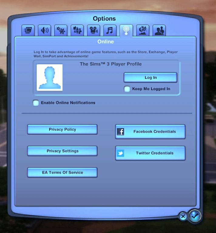 "Sims 3 Launcher: ""the uploading process is running"". ?u=http%3A%2F%2Fi.imgur.com%2F0PWYuOg"