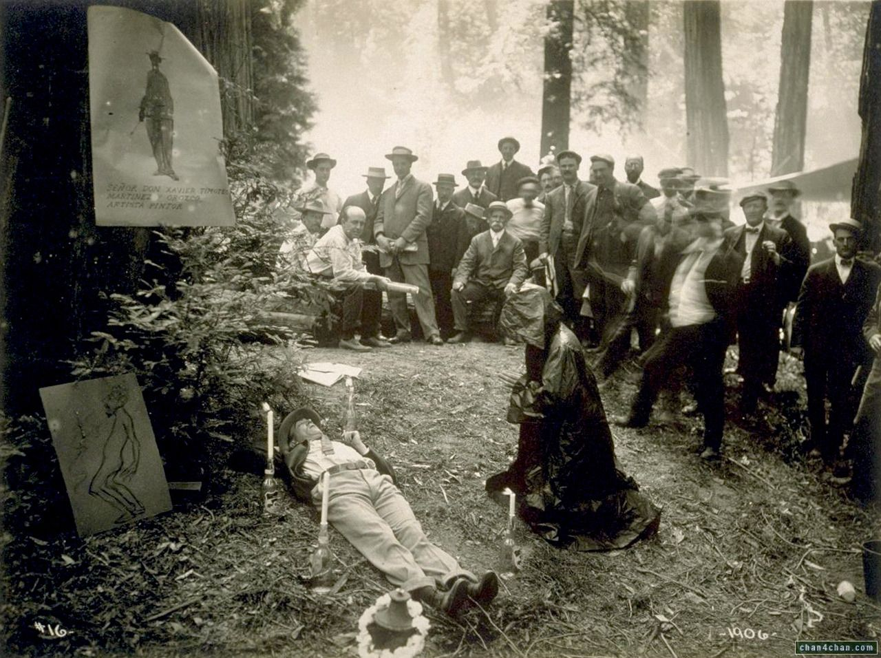 Bohemian Grove : creepy