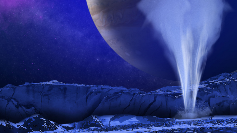 Astronomers catch water erupting from plumes on Jupiter's icy moon Europa…