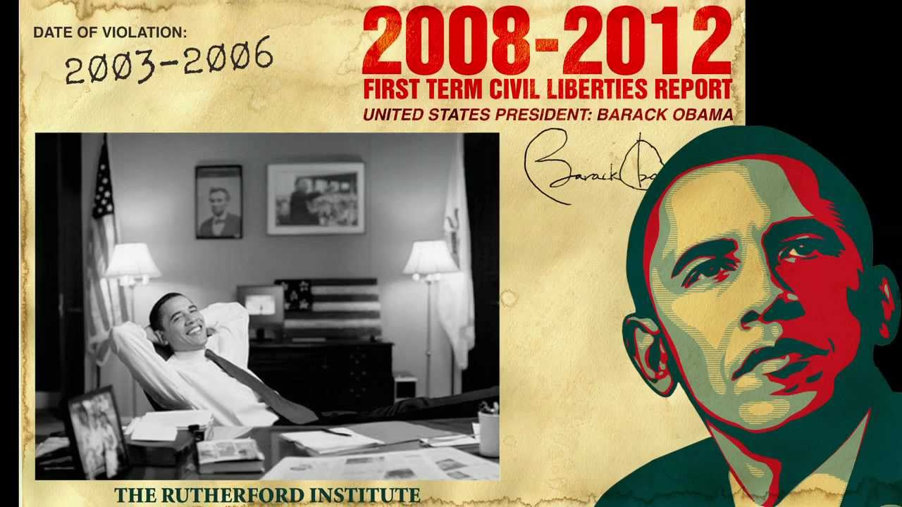 Obama's First-Term Track Record on Civil Liberties - YouTube
