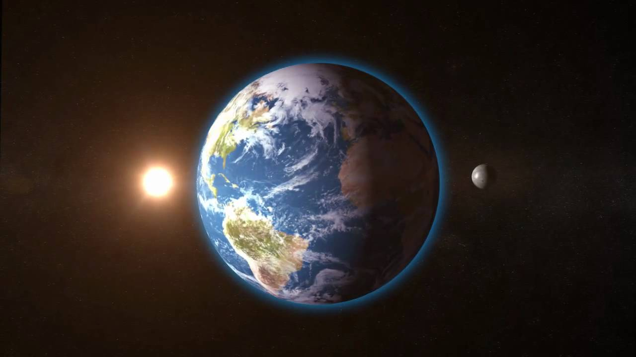 Planet Earth animation after effects - YouTube