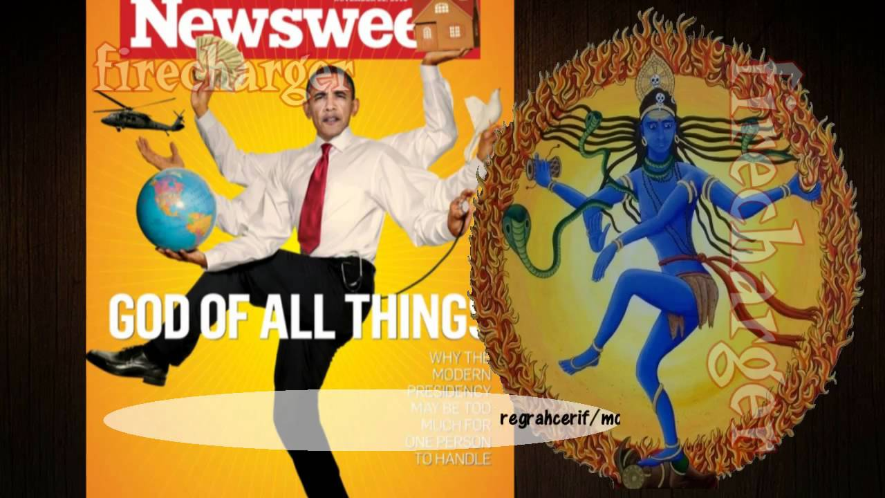 Obama Shiva The Destroyer! - YouTube