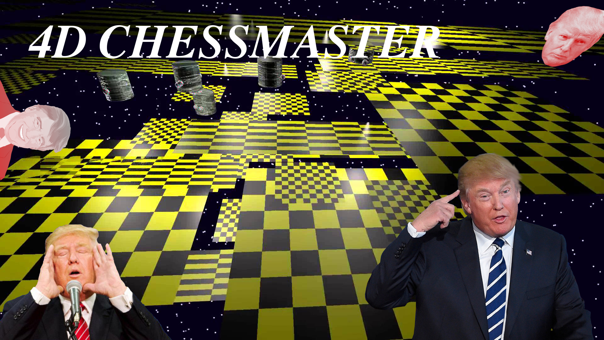 4d chess master | Trump Is Playing 4D Chess | Know Your Meme