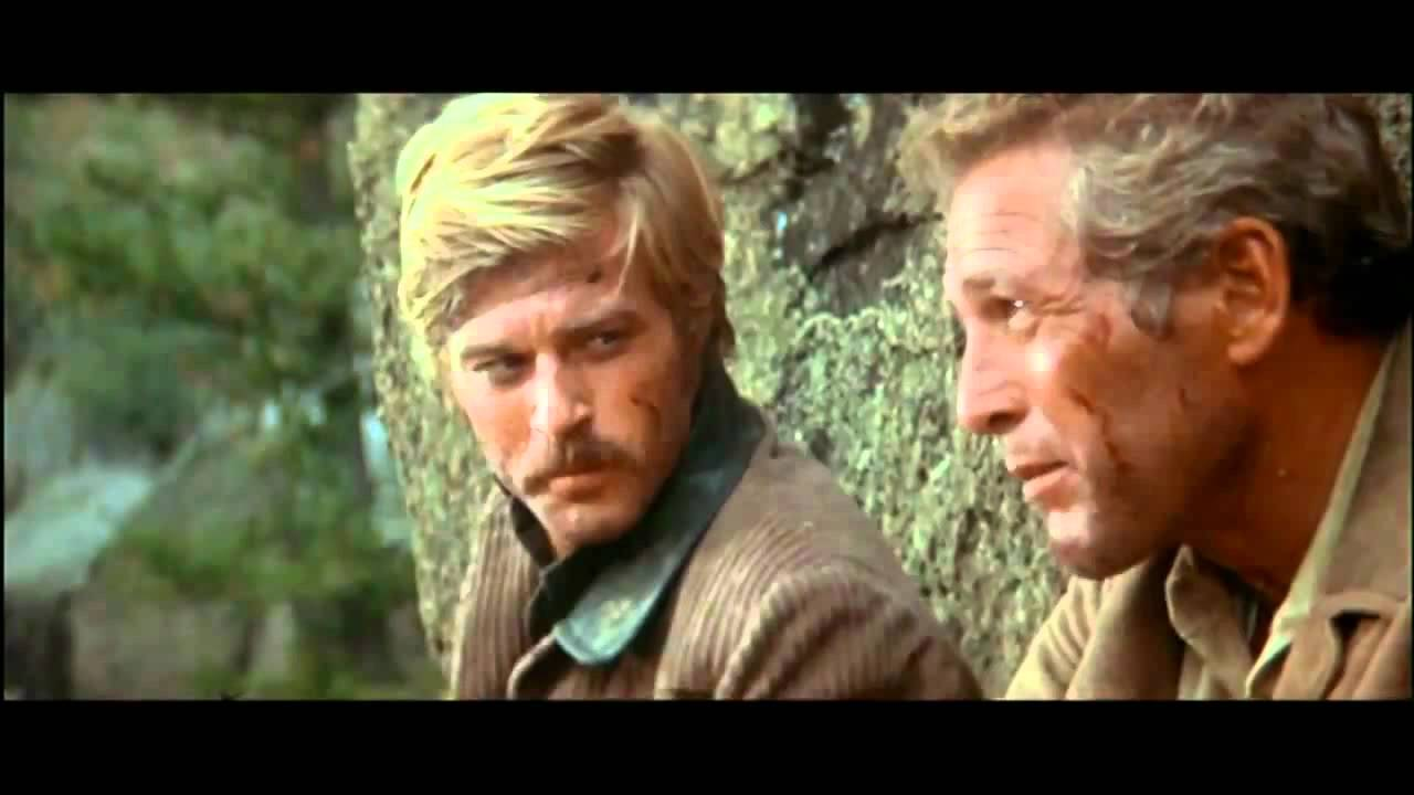 Butch Cassidy and Sundance Kid in the best scene ♥ - YouTube