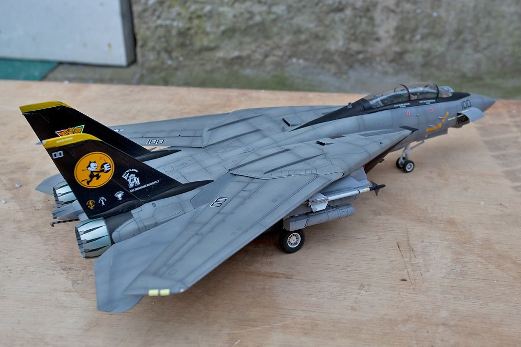 UK Airshow Review Forums • F-14D Tomcat 1/48 Hasegawa Finished!