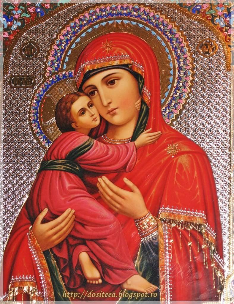 Dositeea: Icoana Maicii Domnului din Vladimir (Vladimirskaia)