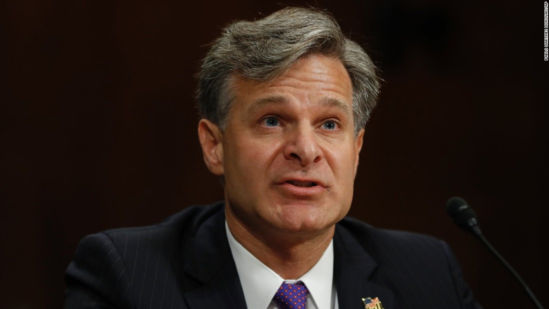 Christopher Wray vows independence: No 'pulling punches ...
