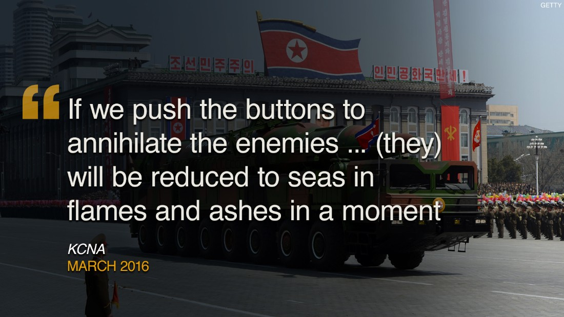 North Korea has a history of using creative language to express ...