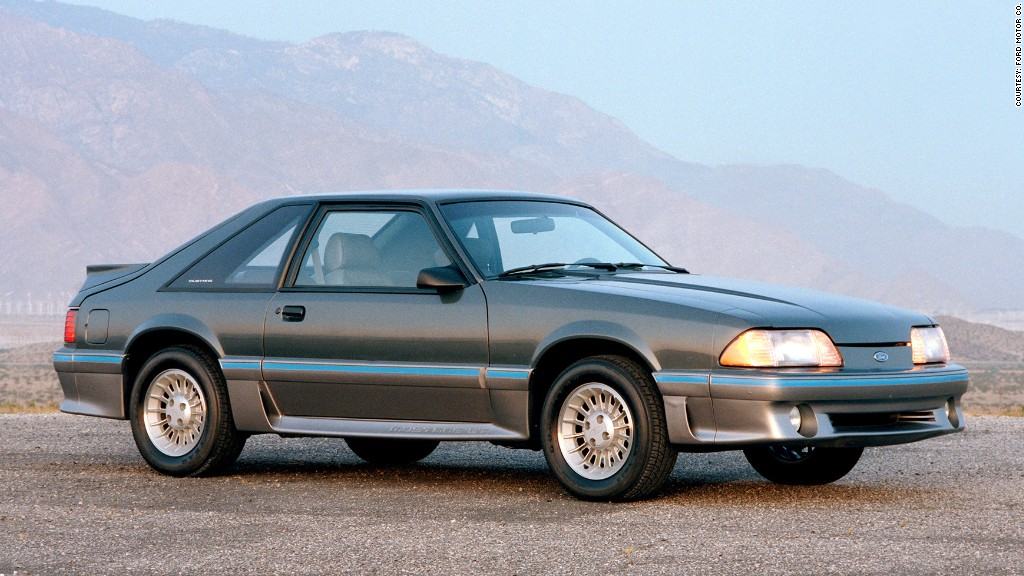 1987 Ford Mustang 5.0 - 12 most important Ford Mustangs ...