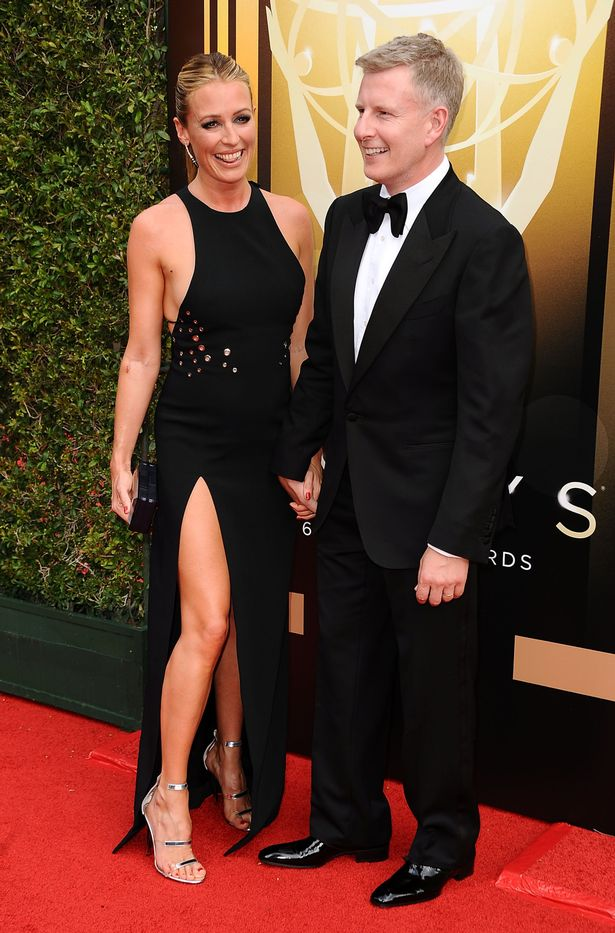 Cat Deeley with Man Patrick Kielty