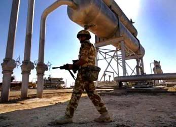 US Troops Guarding Iraqi Oil Pipelines