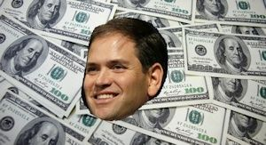 ... SPEAK: Sen Marco Rubio (R-FL) is busy courting Big Wall Street Donors