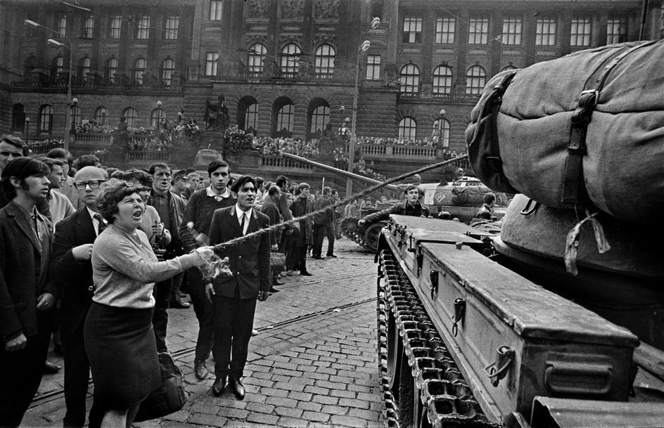 Чехословакия - 68 - история в фотографиях
