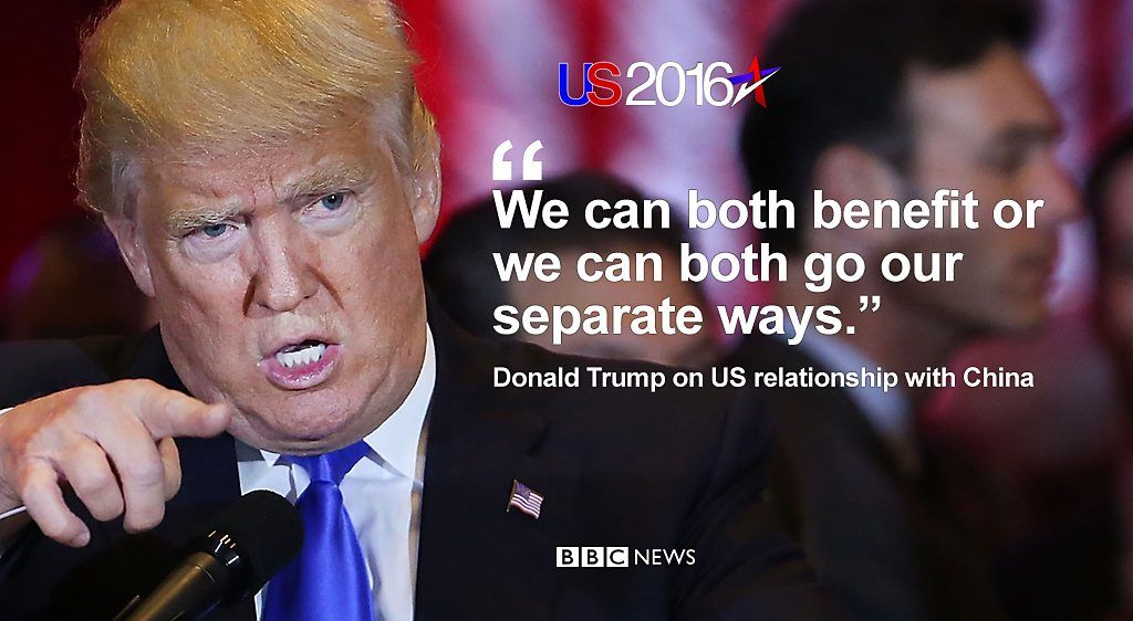 Trump says US and China can 'both benefit or we can both go our ...