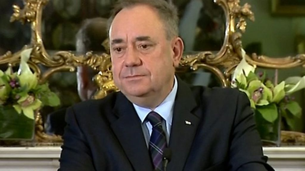 Scottish referendum: Salmond to quit after Scots vote No ...