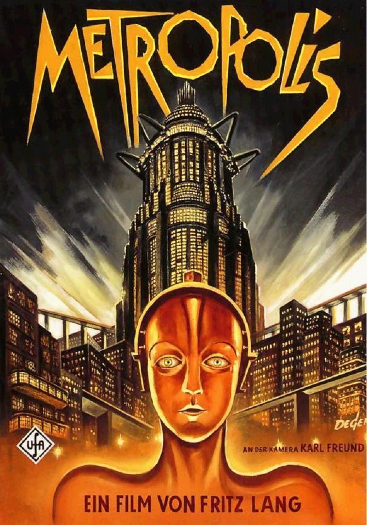 """... de la Ville dans """"Métropolis"""" de Fritz Lang - Histoire des Arts"""
