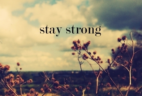 Gallery For > Trying To Stay Strong Quotes Tumblr